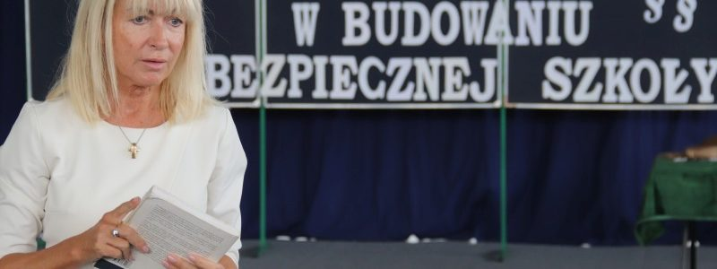 Sędzia Anna Maria Wesołowska w Brudzewie