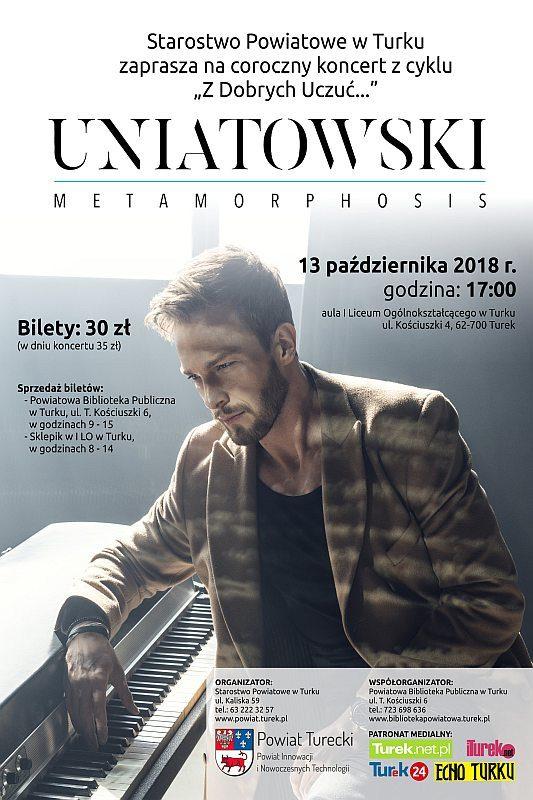 Turek. Koncert Sławka Uniatowskiego