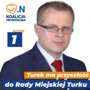 Dariusz Młynarczyk - kandydat do Rady Miejskiej Turku