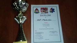 Zwycięstwo OSP Malanów w manewrach powiatowych