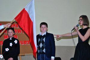 Dobra. Wieczernica z okazji 100-lecia niepodległości w SP Piekary