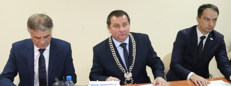Przykona. Sesja rady gminy