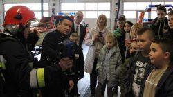 PSP Turek. Wizyta dzieci z Ukrainy