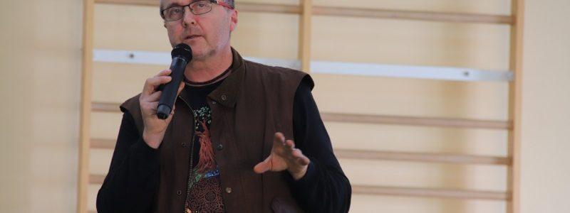 ZSP Słodków. Spotkanie z podróżnikiem Markiem Tomalikiem