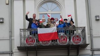 SP 1 Turek. Obchody 100-lecia niepodległości