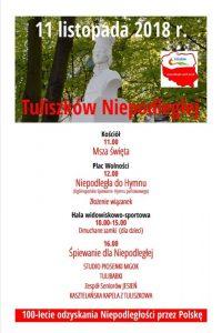 Tuliszków. Obchody Święta Niepodległości