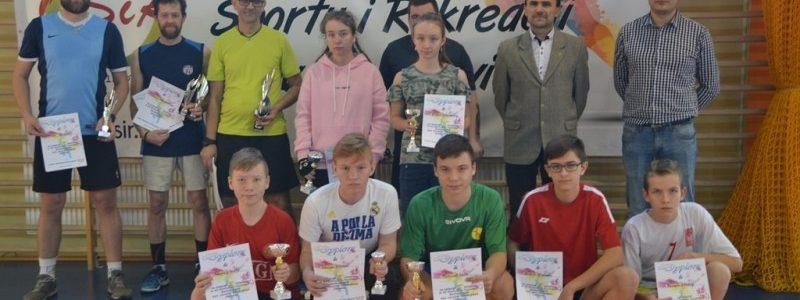 Malanów. Turniej Badmintona