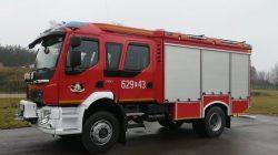OSP Kuny z nowym wozem strażackim Alfred