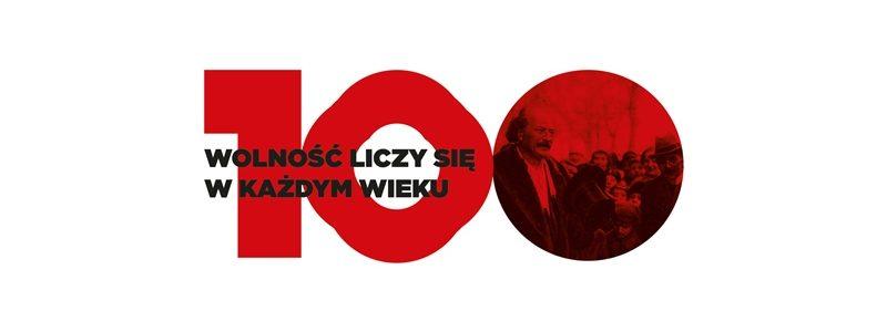 Powstanie Wielkopolskie - 100-lecie (logo)