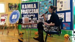 SP 1 Turek. Spotkanie z siatkarką Kamilą Frątczak