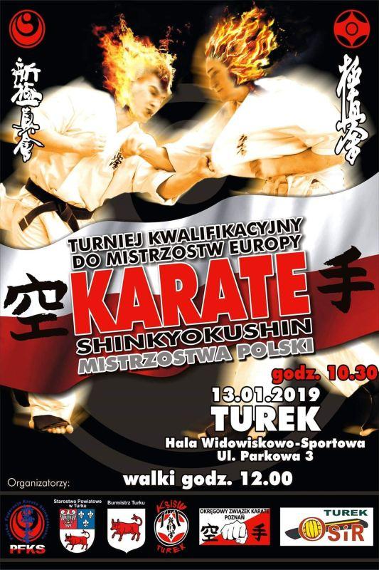 Turek Mistrzostwa Polski Karate Shinkyokushin