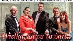 """MDK Turek. Koncert noworoczny """"Wielka sława to żart"""""""