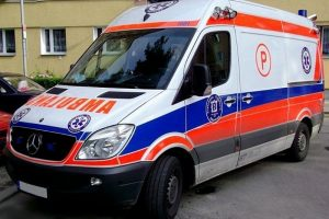 Nowy nabytek SP ZOZ zaparkowany w garażu w Tuliszkowie?