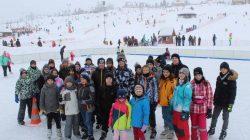 UKS Judo na obozie narciarskim