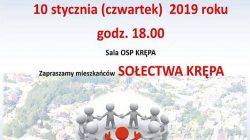 Tuliszków. Spotkanie z burmistrzem - sołectwo Krępa
