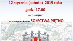 Tuliszków. Spotkanie z burmistrzem - sołectwo Piętno
