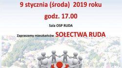 Tuliszków. Spotkanie z burmistrzem - sołectwo Ruda