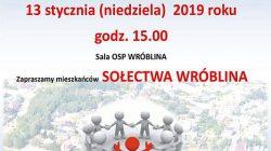 Tuliszków. Spotkanie z burmistrzem - sołectwo Wróblina