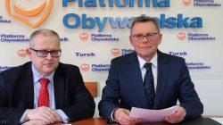 Konferencja prasowa Tomasza Nowaka i Dariusza Młynarczyka (15.02.2019)