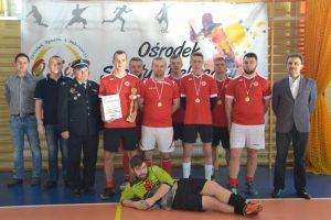 Druhowie z Malanowa wygrali Gminny Turniej Drużyn OSP w Halową Piłkę Nożną