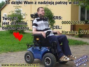 1% podatku dla Mariusza Harasnego
