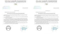 Turek. Powołanie do Kadry Polski Karate