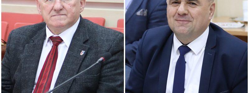 Turek. Sesja rady powiatu, Zdzisław Wojtkowiak, Jan Gruca