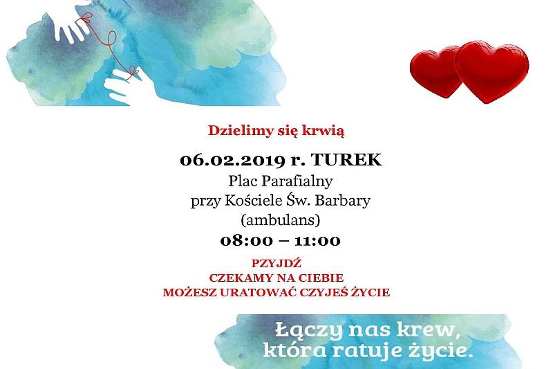 Turek. Dzielimy się krwią - zbiórka krwi