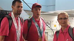 Mistrz olimpijski Bartosz Sadkowski już w domu