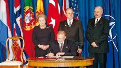 Wejście Polski do NATO - MSZ Bronisław Geremek