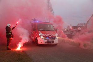 Brudzew. Nowy wóz strażacki w prezencie na 95-lecie OSP Chrząblice
