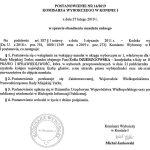 Zofia Dzierzgowska radną. Postanowienie Komisarza Wyborczego
