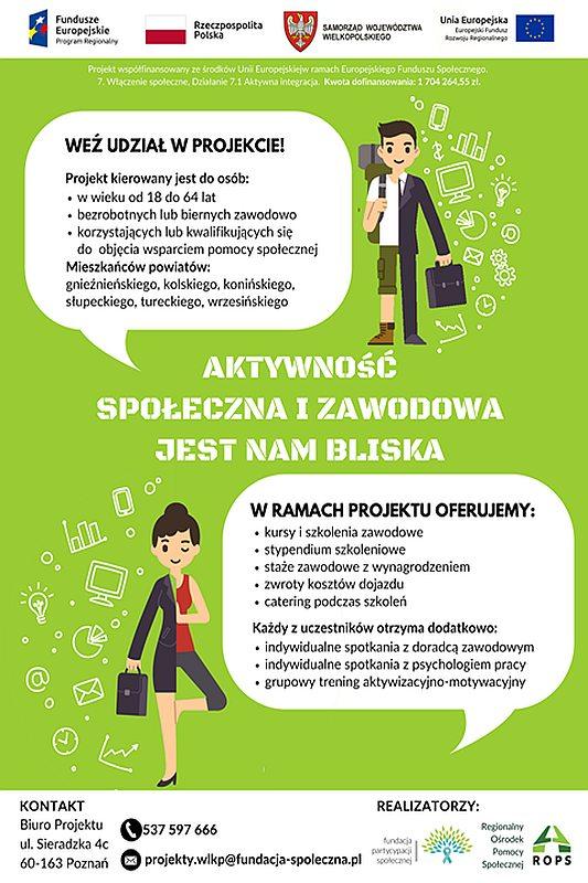 Aktywność społeczna i zawodowa