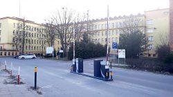 Szlabany przy Izbie Przyjęć SP ZOZ w Turku