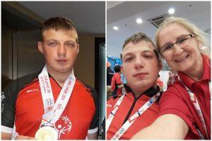 Złoty Bartosz Sadkowski. Sukces na Igrzyskach w Abu Dhabi