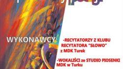Turek. Koncert Barwy poezji