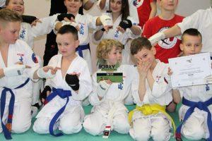 Orły Aktywności Fizycznej dla Turkowskiego Klubu Karate