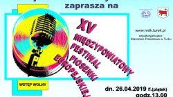 Turek. Międzypowiatowy Festiwal Piosenki Europejskiej