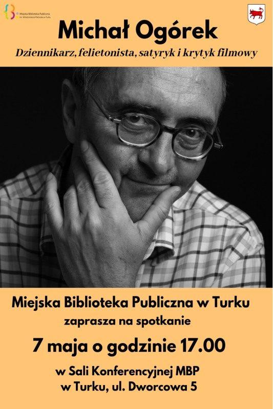 Turek. Spotkanie autorskie z Michałem Ogórkiem