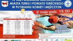 Turek. Indywidualne mistrzostwa miasta Turku i powiatu tureckiego w pływaniu kobiet i mężczyzn
