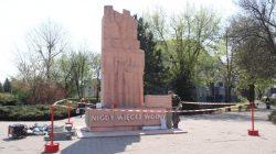 Turek. Remont pomnika Nigdy więcej wojny