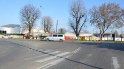 Turek. Skrzyżowanie ulic Kolska Szosa i Wyszyńskiego