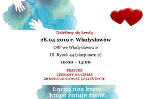 OSP Władysławów. Zbiórka krwi