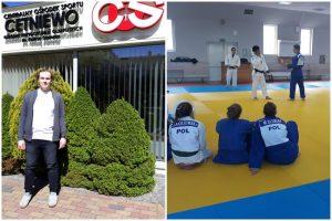 Trening i wypoczynek nad morzem. Zgrupowanie judoków w Cetniewie