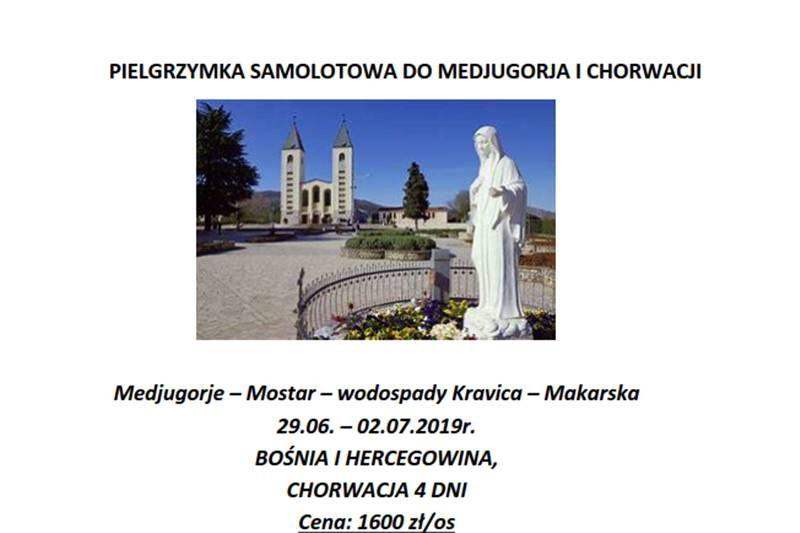 Pielgrzymka do Medjugoria i Chorwacji