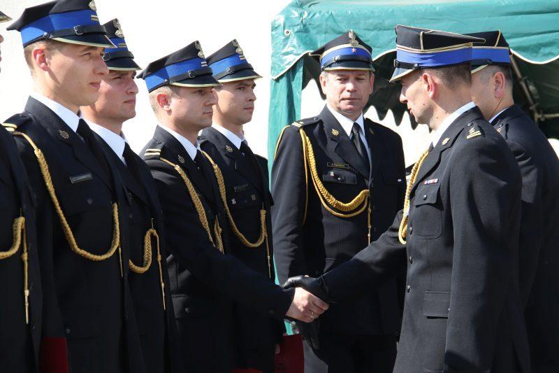 Powiatowy Dzień Strażaka w Przykonie. Były odznaczenia i awanse
