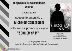 Spotkanie autorskie z Michałem Sobczakiem