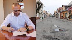 Turek. Przebudowa ulicy Kaliskiej