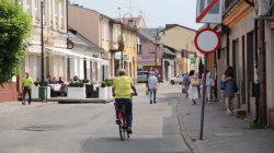 Deptak na ul. Kaliskiej w Turku