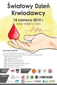 Turek. Światowy Dzień Krwiodawstwa